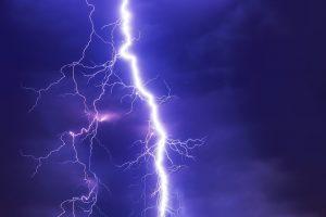 un orage